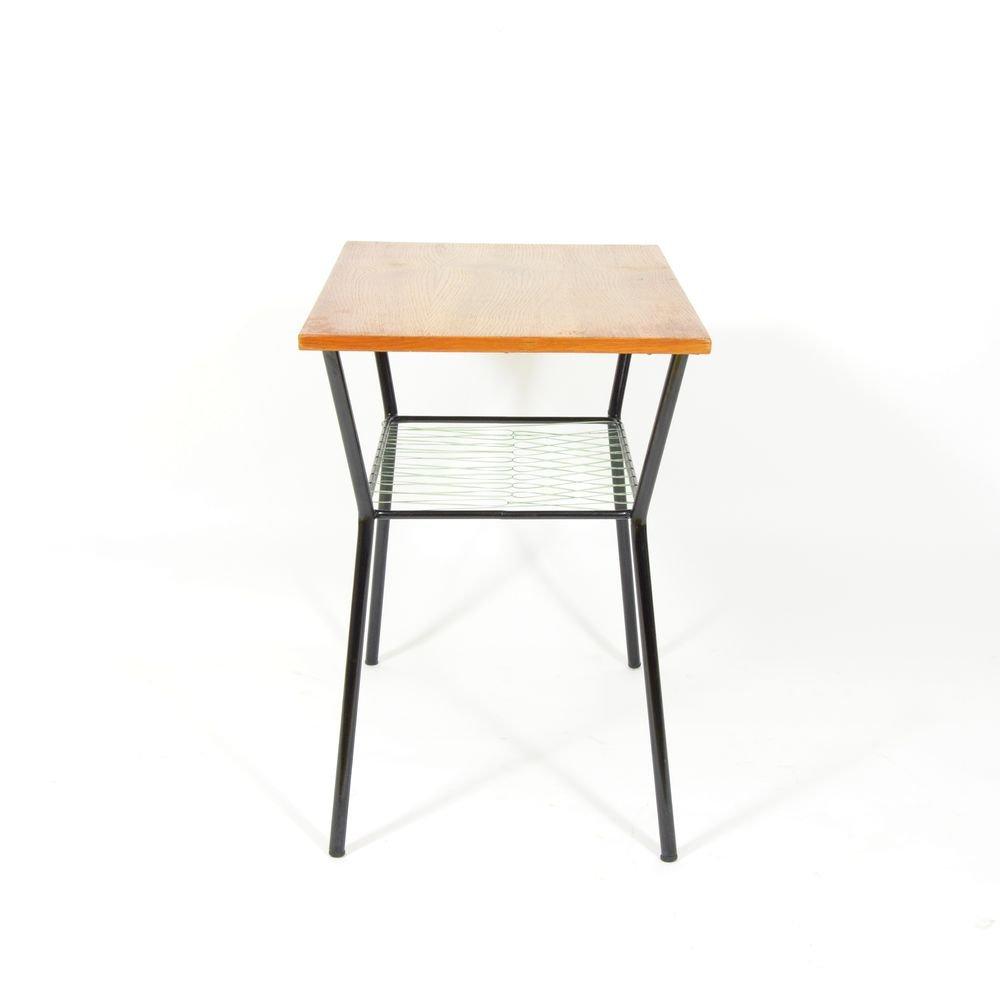 couchtisch mit ablage aus metall 1970er bei pamono kaufen. Black Bedroom Furniture Sets. Home Design Ideas