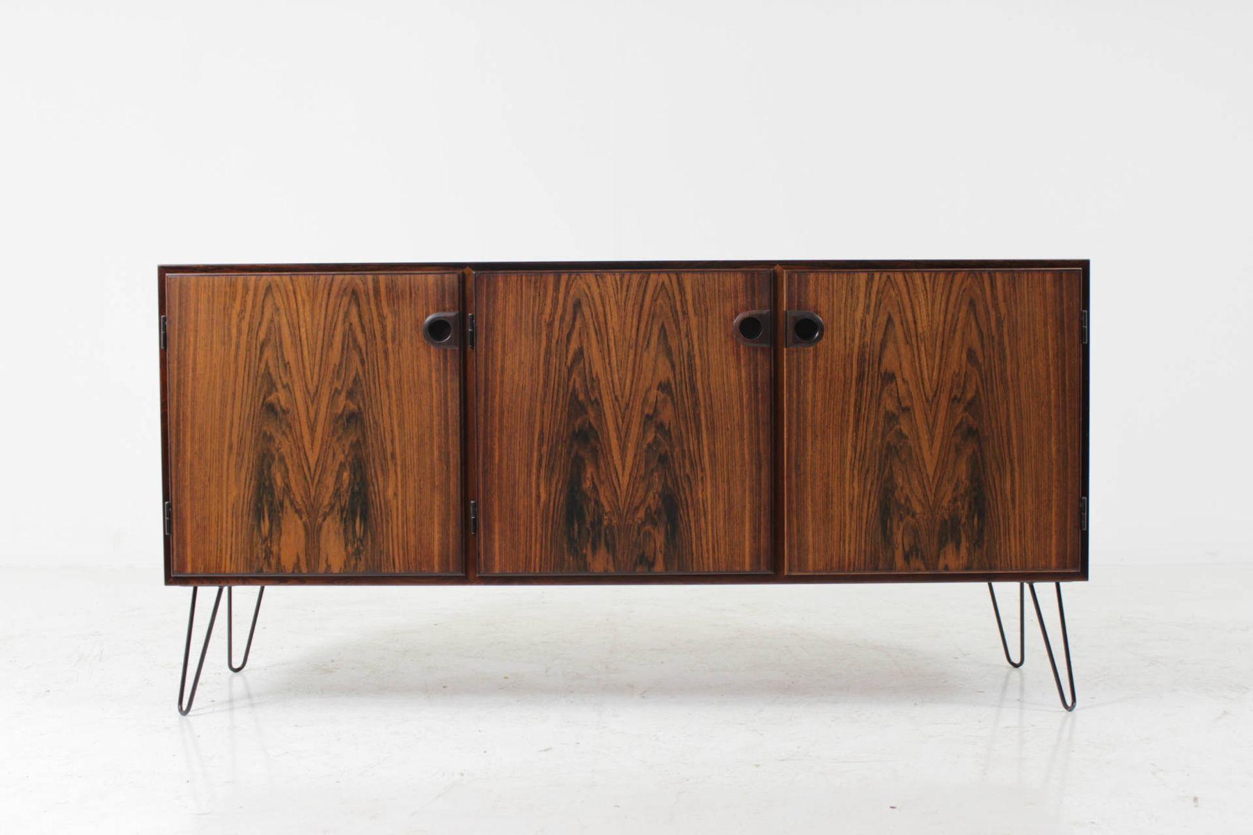 danish palisander sideboard by svend ellekj r 1960s for. Black Bedroom Furniture Sets. Home Design Ideas
