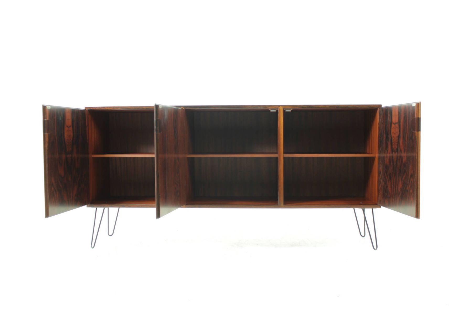 d nisches palisander sideboard von svend ellekj r 1960er bei pamono kaufen. Black Bedroom Furniture Sets. Home Design Ideas