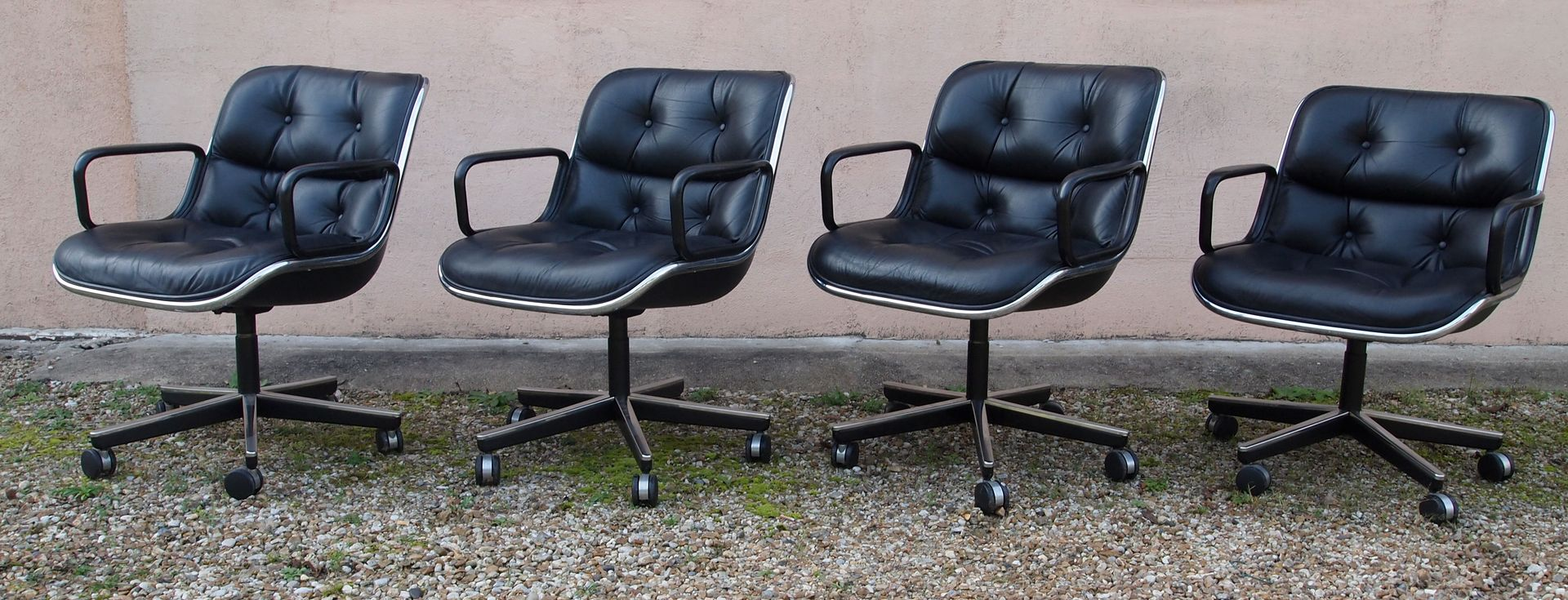 Vintage chair by charles pollock for knoll inc knoll international for sale at pamono - Knoll inc chairs ...