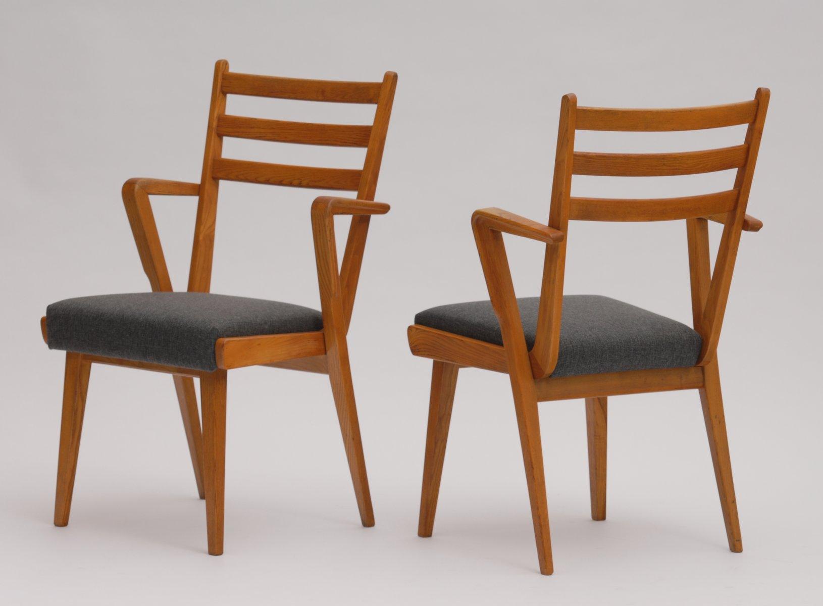 esszimmerst hle von jitona 1955 4er set bei pamono kaufen. Black Bedroom Furniture Sets. Home Design Ideas