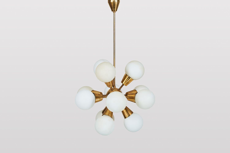 Vintage Sputnik Lamp from Kamenicky Senov for sale at Pamono