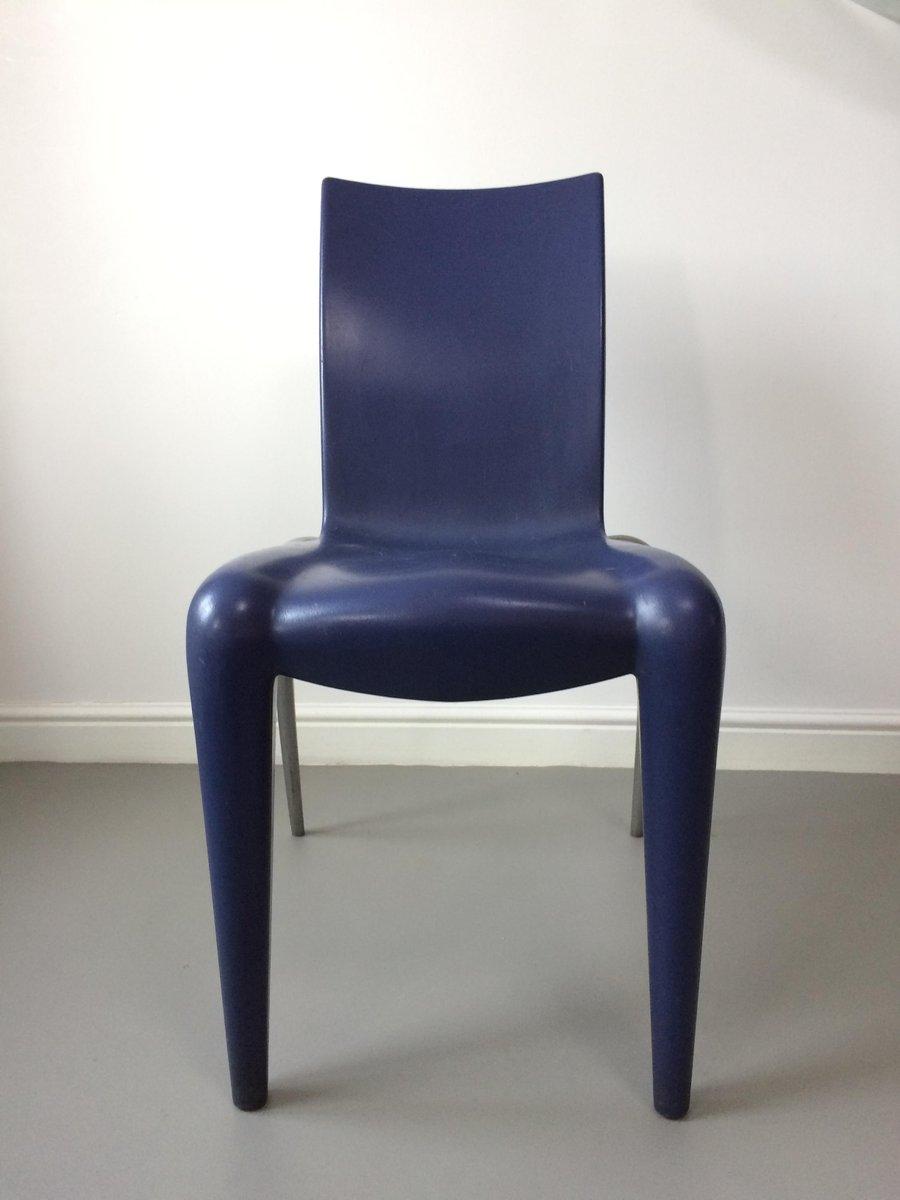 chaises louis 20 par philippe starck pour vitra 1990s set de 4 en vente sur pamono. Black Bedroom Furniture Sets. Home Design Ideas