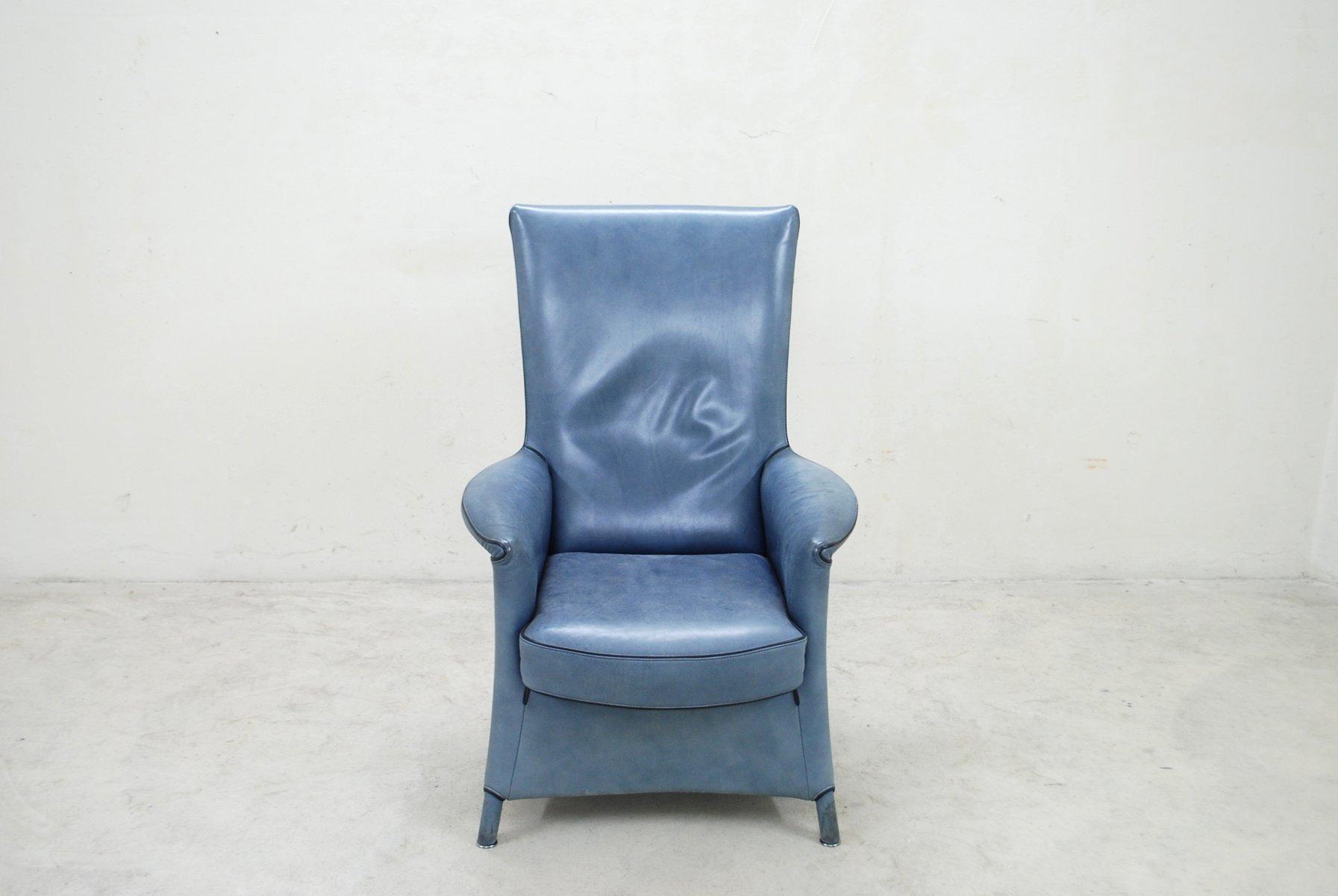 vintage alta sessel mit hoher r ckenlehne von paolo piva. Black Bedroom Furniture Sets. Home Design Ideas