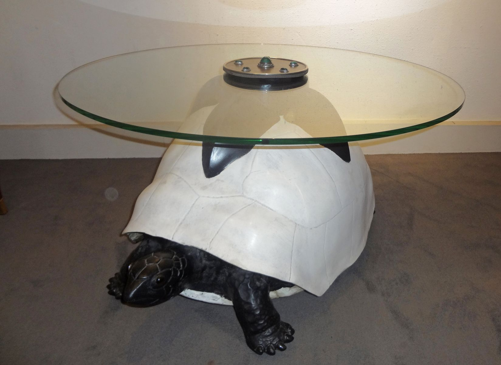 Tortoise coffee table by anthony redmile 1980s for sale at pamono tortoise coffee table by anthony redmile 1980s geotapseo Gallery