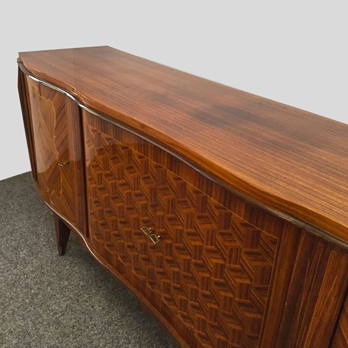art deco sideboard in rosewood 1940s for sale at pamono. Black Bedroom Furniture Sets. Home Design Ideas
