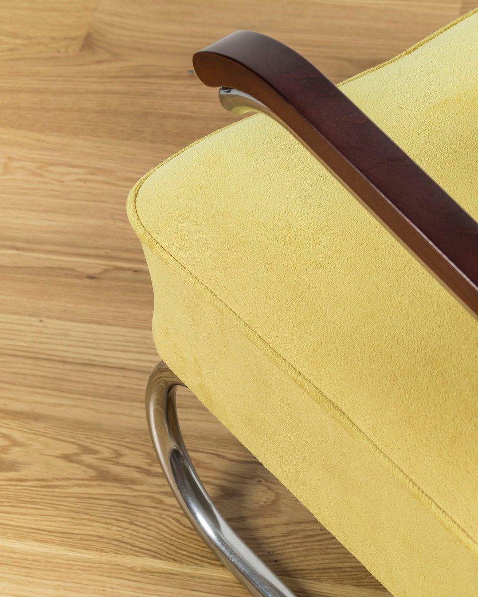 fauteuil bauhaus de m cke melder 1930s en vente sur pamono. Black Bedroom Furniture Sets. Home Design Ideas
