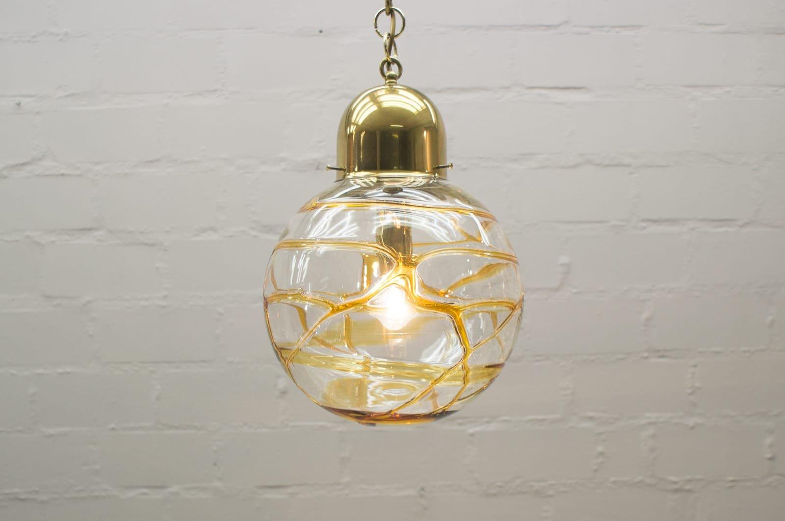 vintage murano glaskugel lampe 1960er bei pamono kaufen. Black Bedroom Furniture Sets. Home Design Ideas