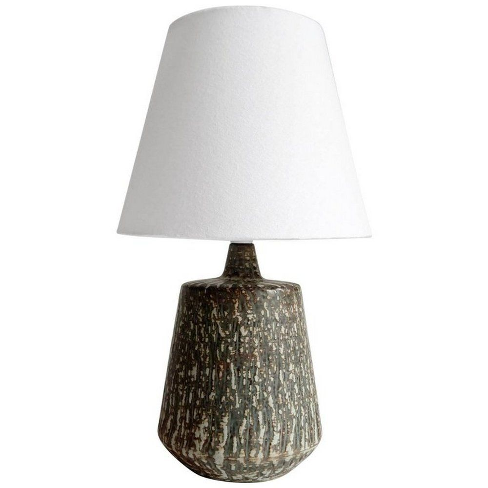 Mid Century Ceramic Table Lamp By Gunnar Nylund For Rörstrand