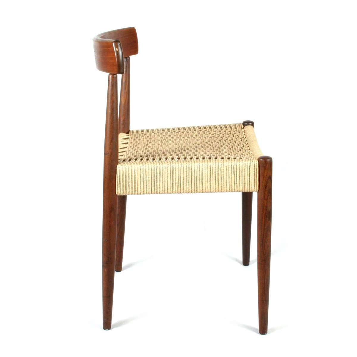 Mid century scandinavian chair by arne hovmand olsen for mogens kold for sale at pamono - Scandinavian chair ...
