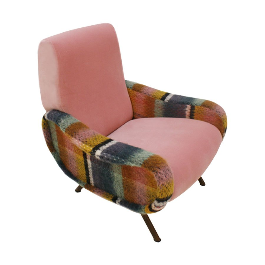 Italian Lady Armchair By Marco Zanuso For Arflex 1960s
