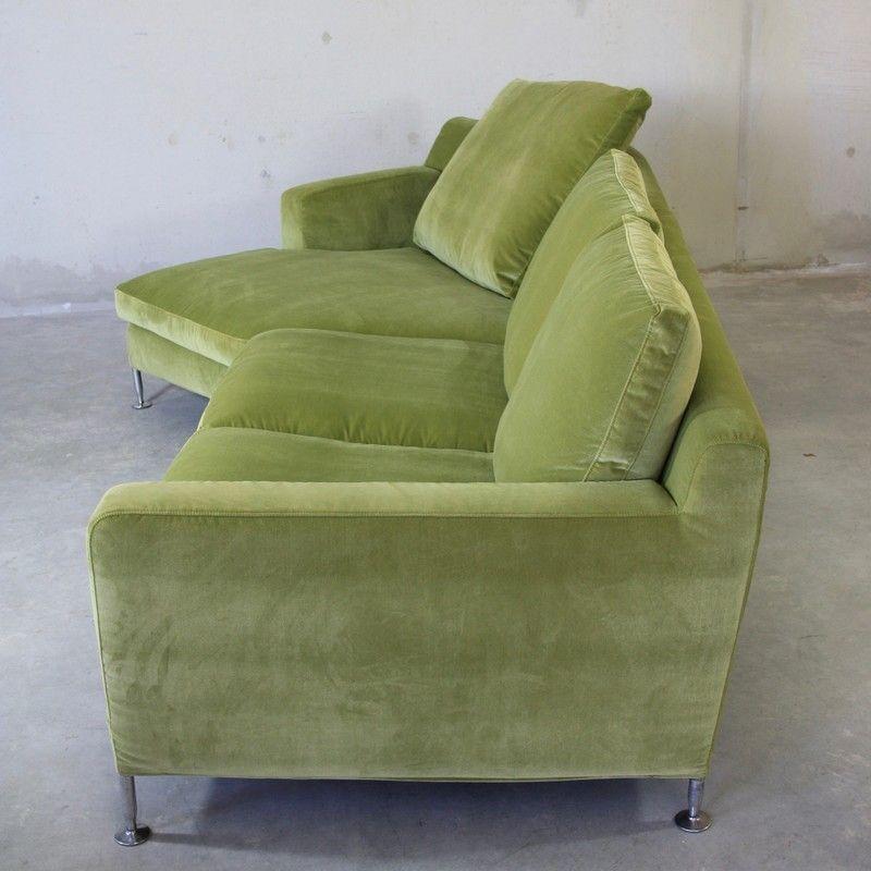 Green Corner Sofa By Antonio Citterio For B B Italia C B Italia 1995 For Sale At Pamono
