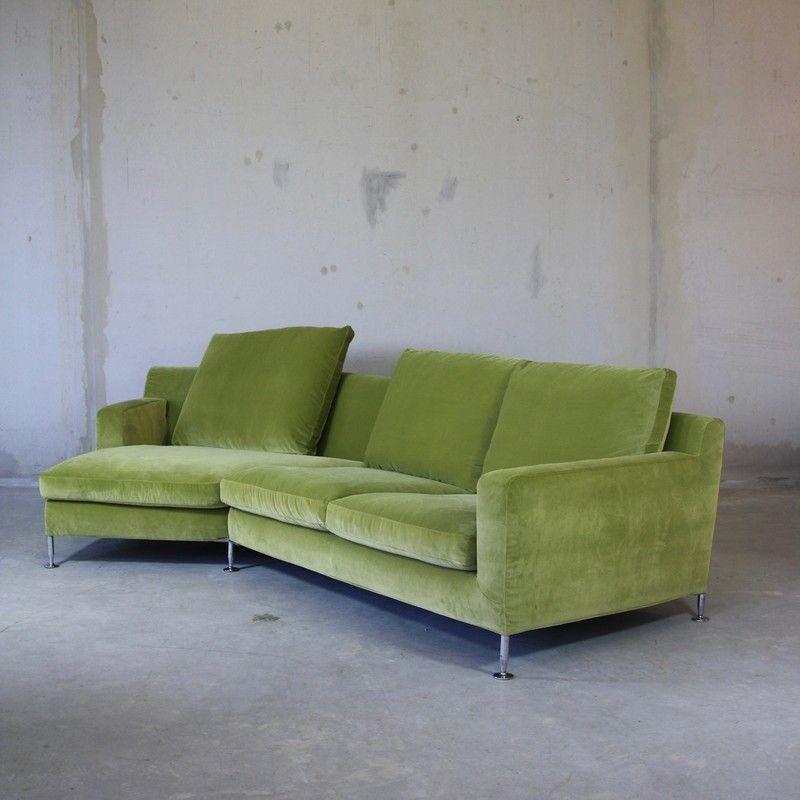 Corner Sofa Bed Sale Ireland: Green Corner Sofa By Antonio Citterio For B&B Italia / C&B