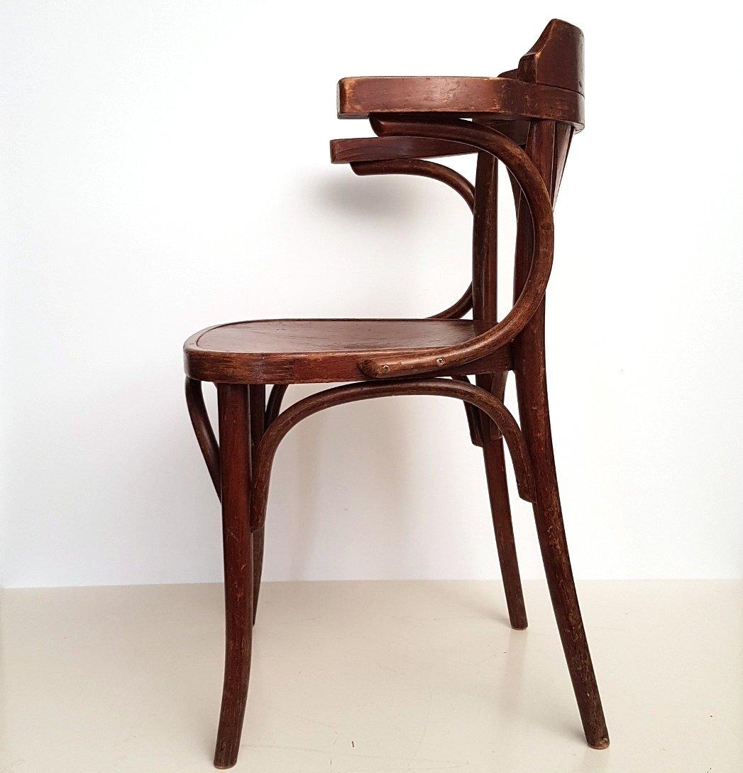 Sedia modello b25 in legno curvato di michael thonet per drevounia anni 39 20 in vendita su pamono - Sedia thonet originale ...