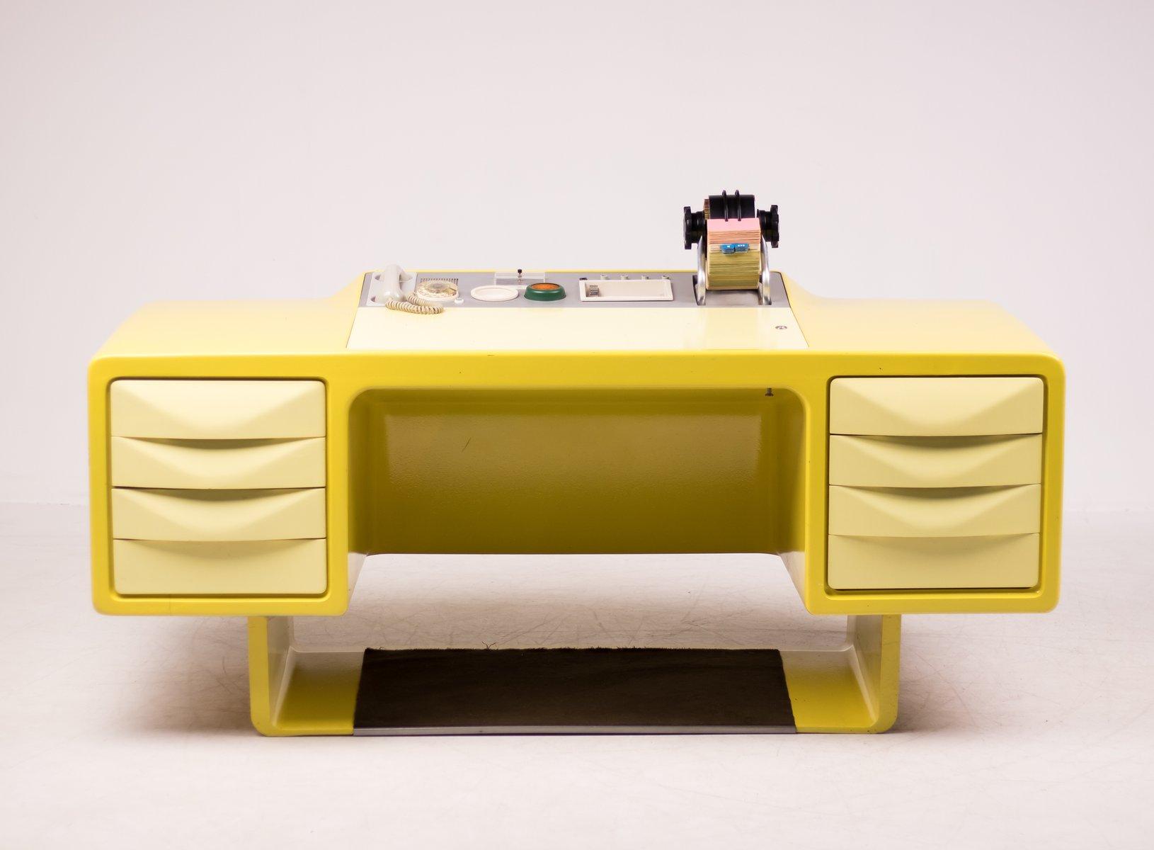 Vintage Fibergl Director S Desk By Ernest Igl For Wilhelm Werndl