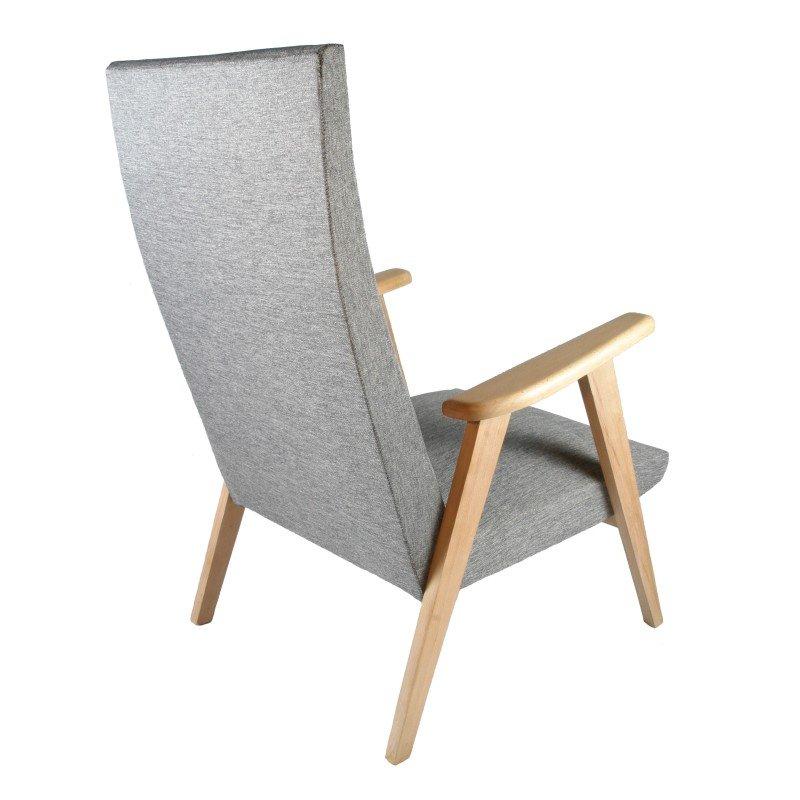 mid century sessel mit kompassf en bei pamono kaufen. Black Bedroom Furniture Sets. Home Design Ideas