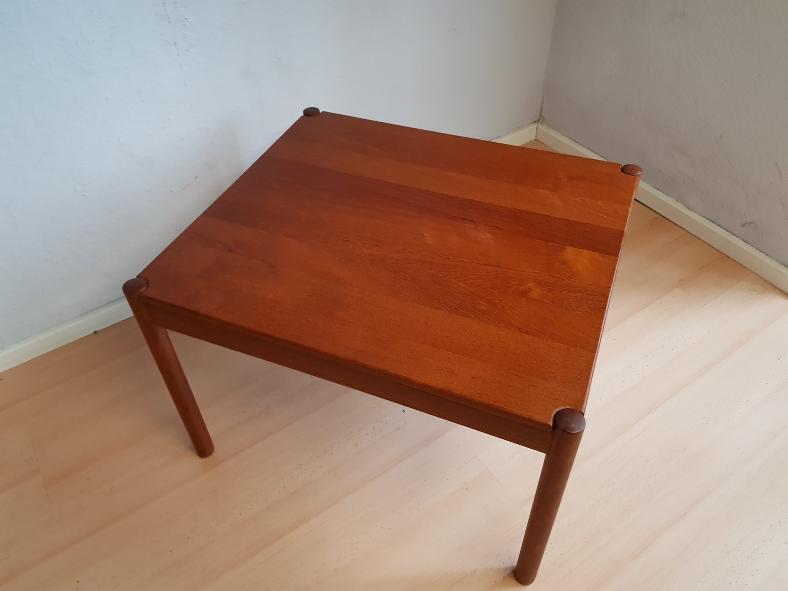 Vintage Teak Coffee Table by Magnus Olesen for sale at Pamono