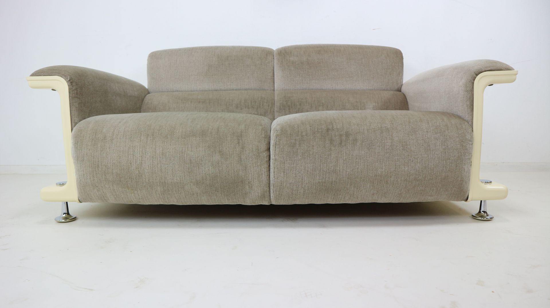 bz28 two seater sofa by gerd lange for 39 t spectrum 1970s. Black Bedroom Furniture Sets. Home Design Ideas