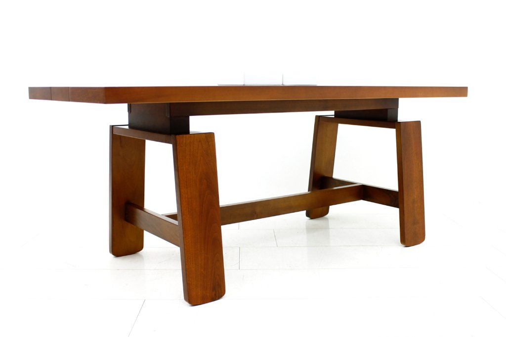 midcentury dining table by silvio coppola for bernini 1960s