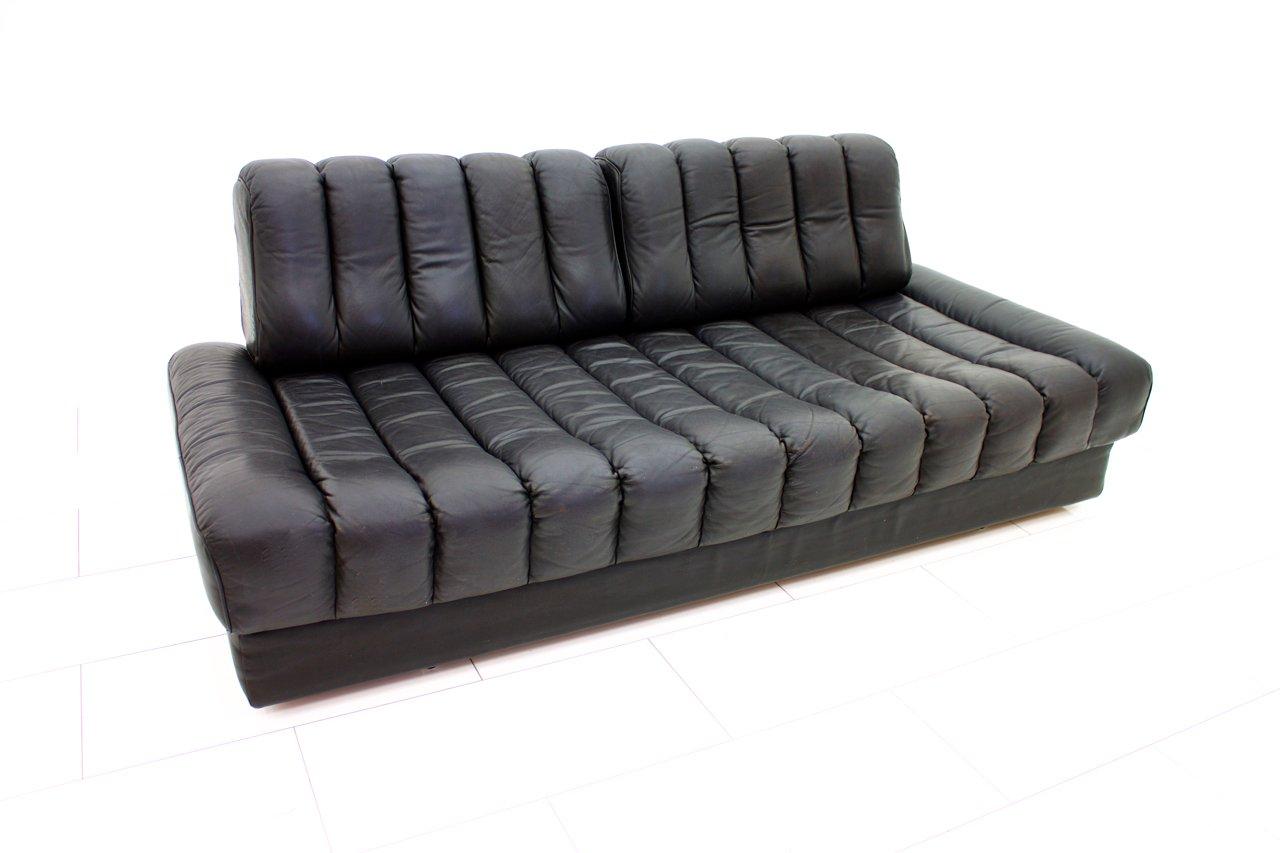 schweizer ds 85 ledersofa und schlafsofa von de sede 1960er bei pamono kaufen. Black Bedroom Furniture Sets. Home Design Ideas
