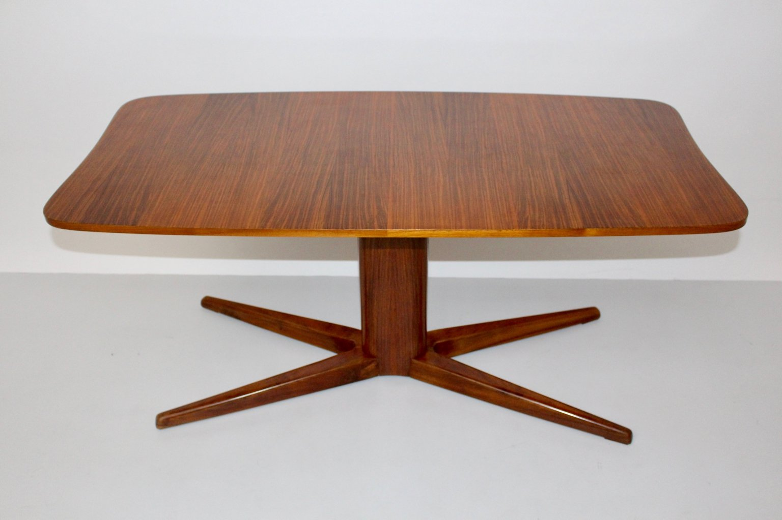 Rosewood Veneer Coffee Table By Oswald Haerdtl 1940s For Sale At Pamono
