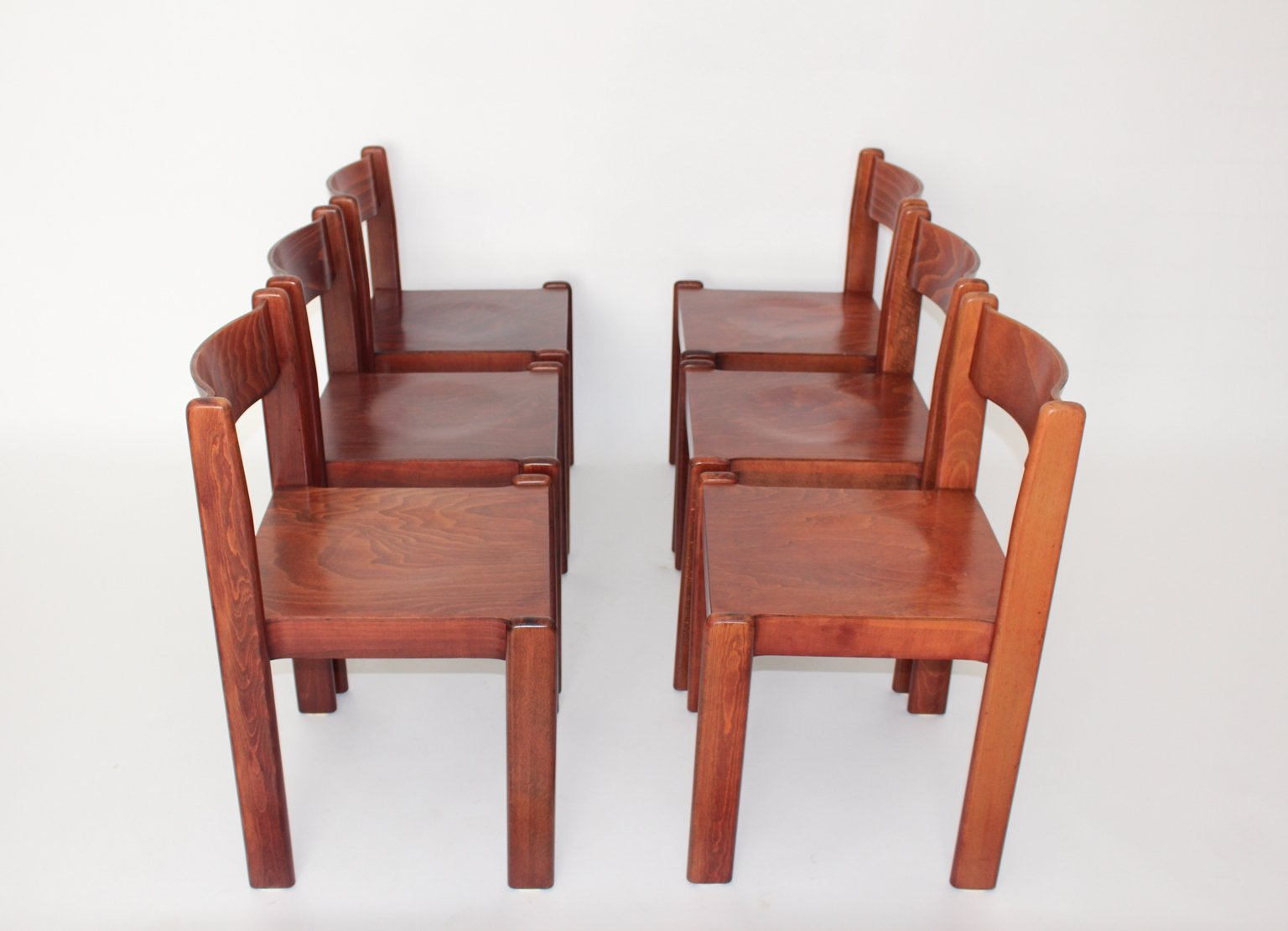 Brown Italian Dining Room Chair 1970s