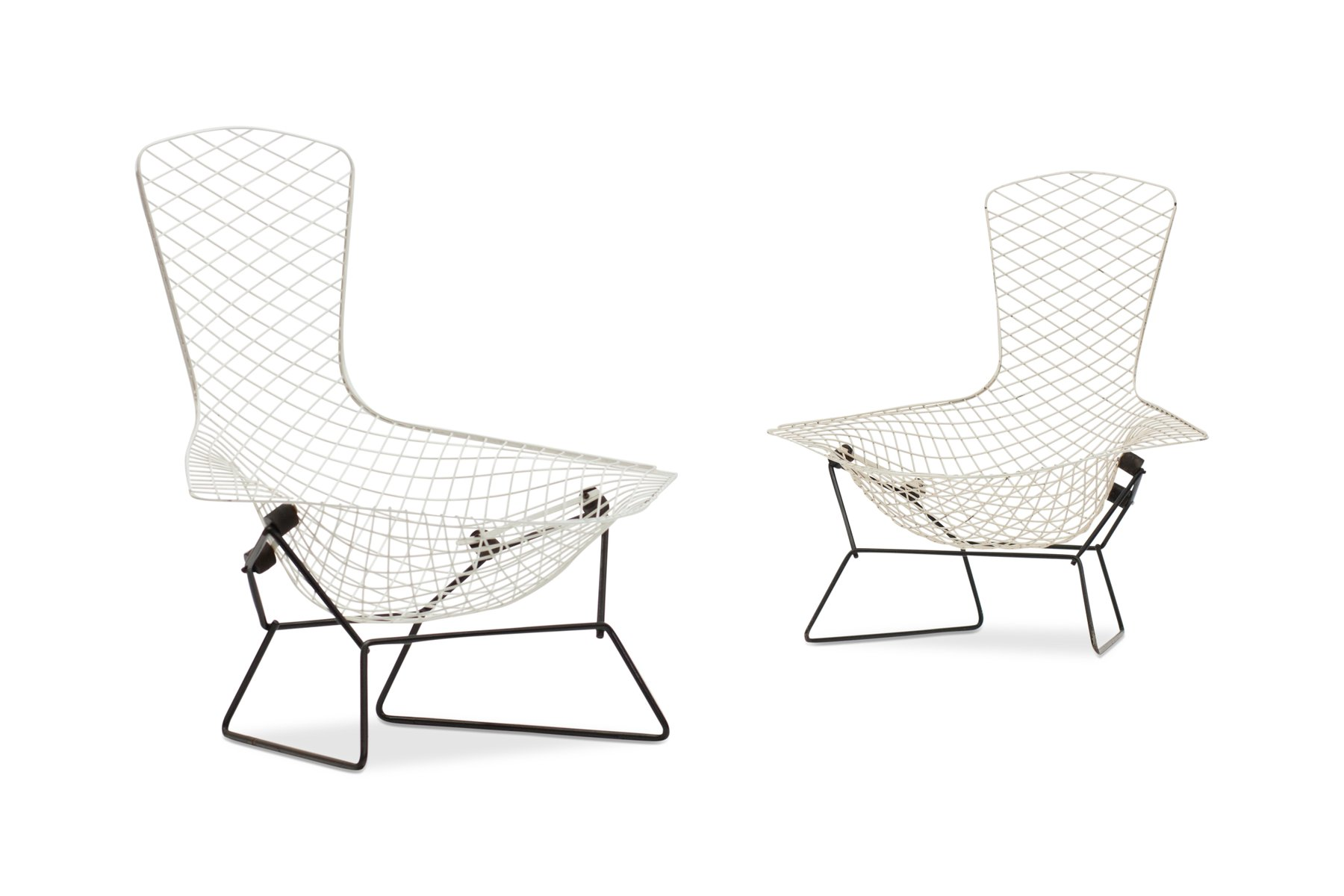 Bird Chairs by Harry Bertoia for Knoll International 1960s Set