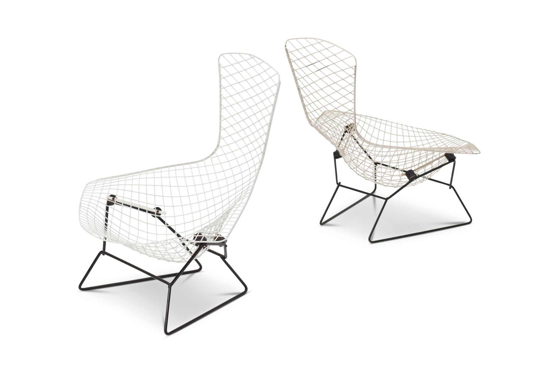 Bird Chairs by Harry Bertoia for Knoll International, 1960s, Set ...