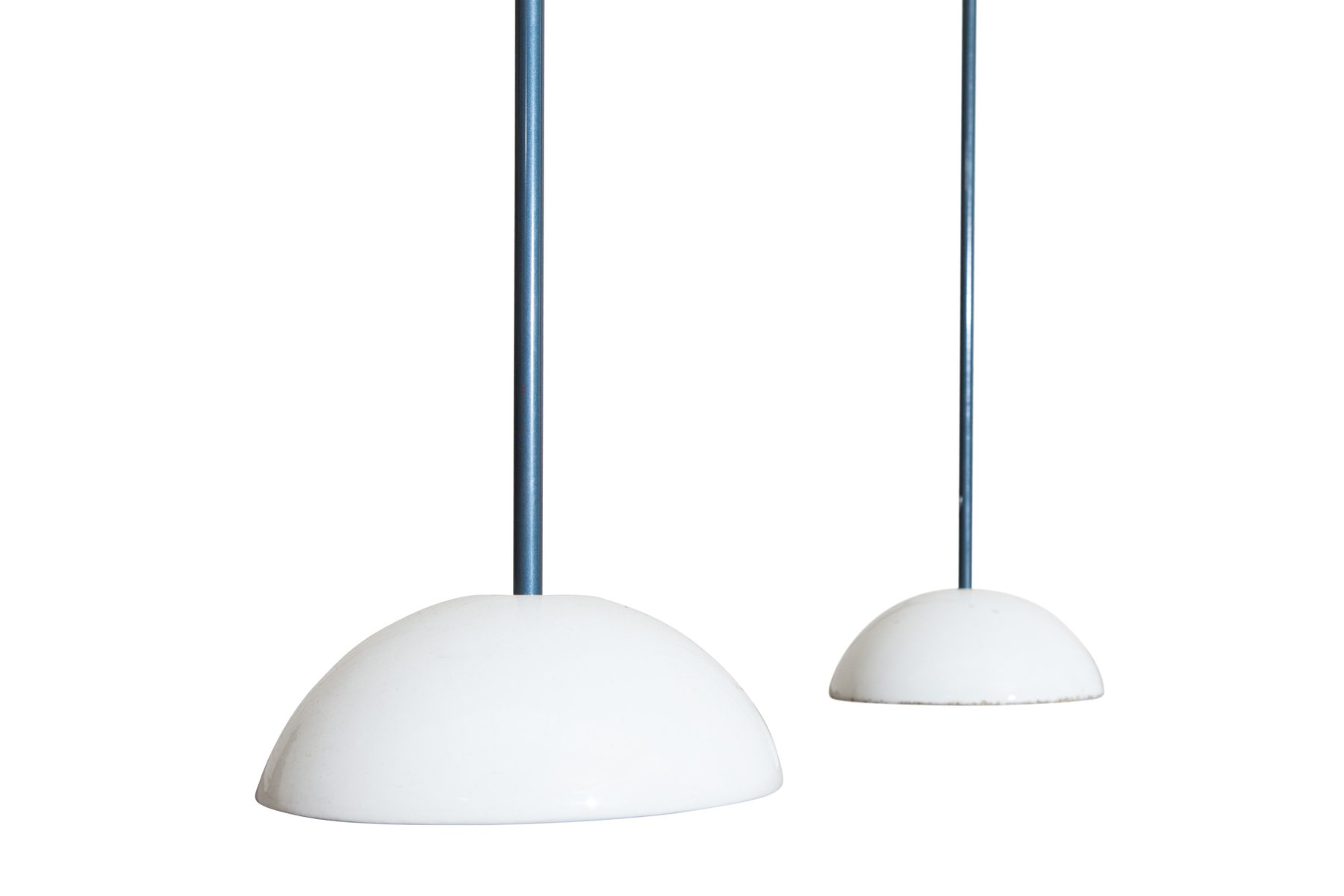 Vintage Bip-Bip Floor Lamps by Achille Castiglioni for Flos, Set of 2 for sale at Pamono