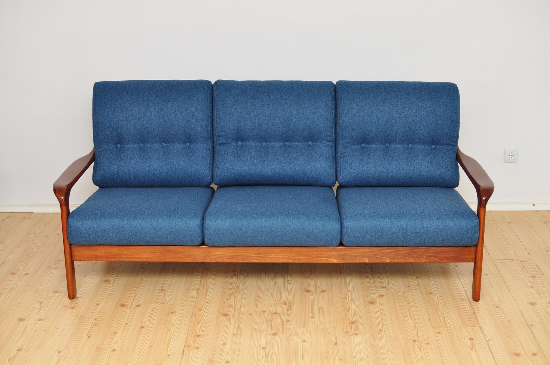 Mid Century 3 Seater Sofa 1960s For Sale At Pamono