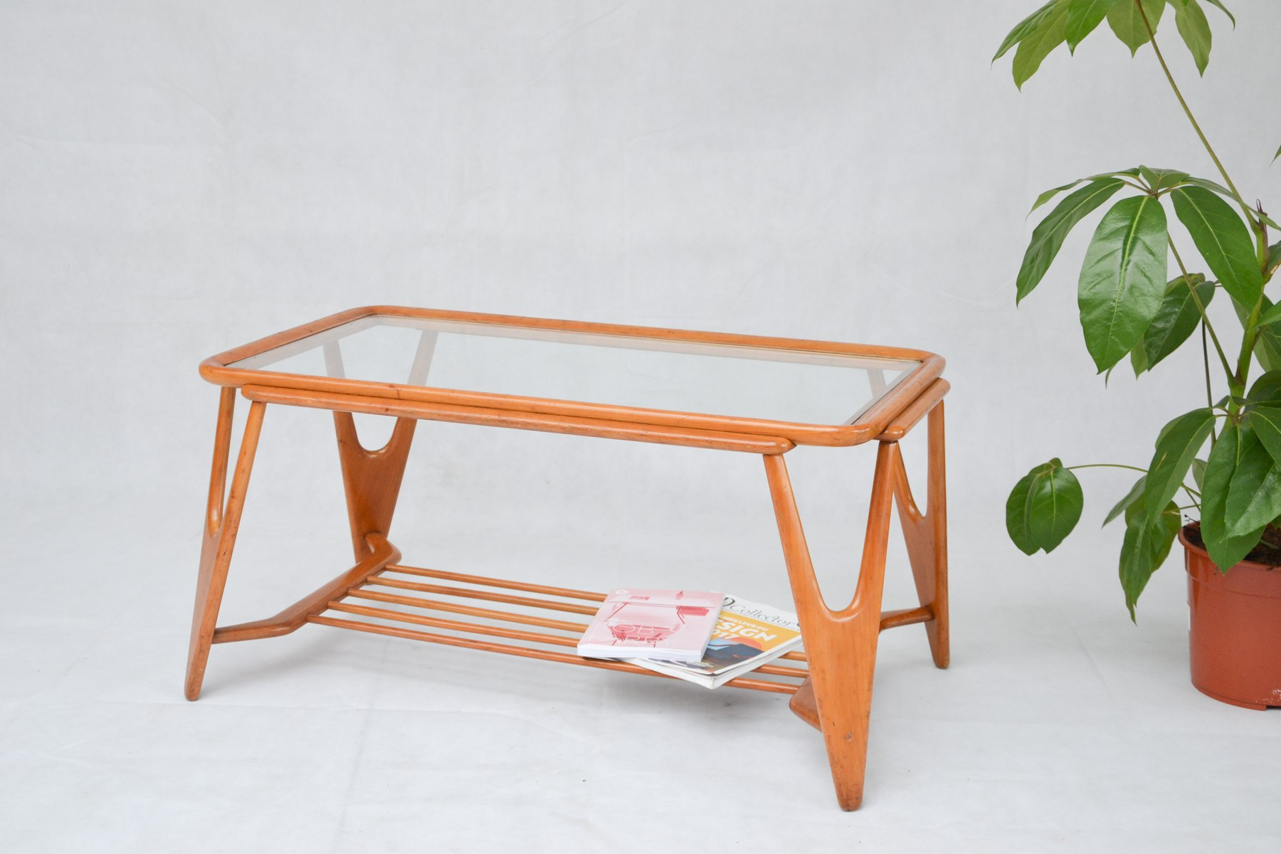 Coffee Table By Cesare Lacca For Cassina 1950s For Sale At Pamono