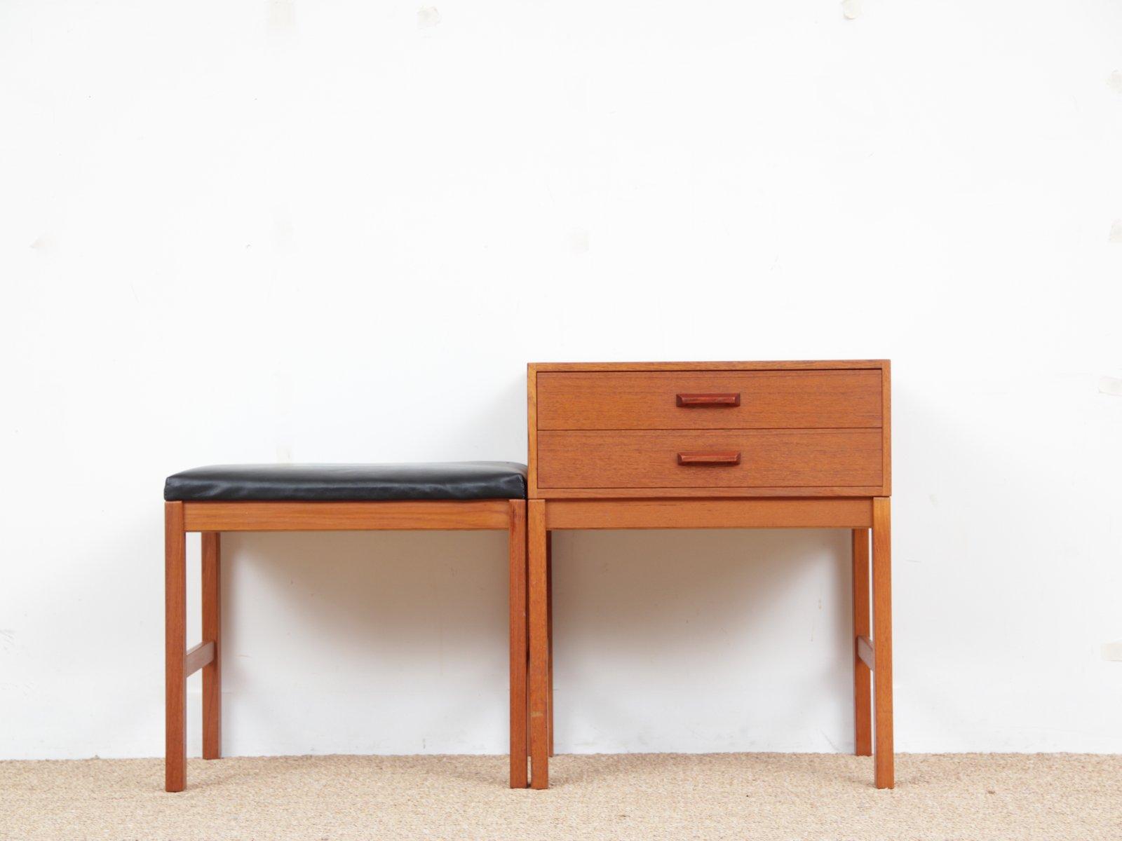 Mid Century Modern Scandinavian Hall Furniture In Teak
