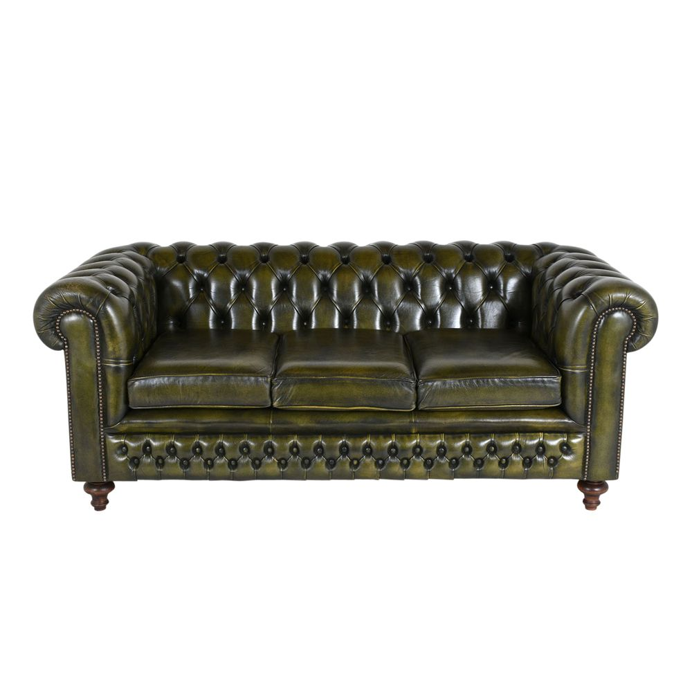 Vintage Tufted Sofa 1950s