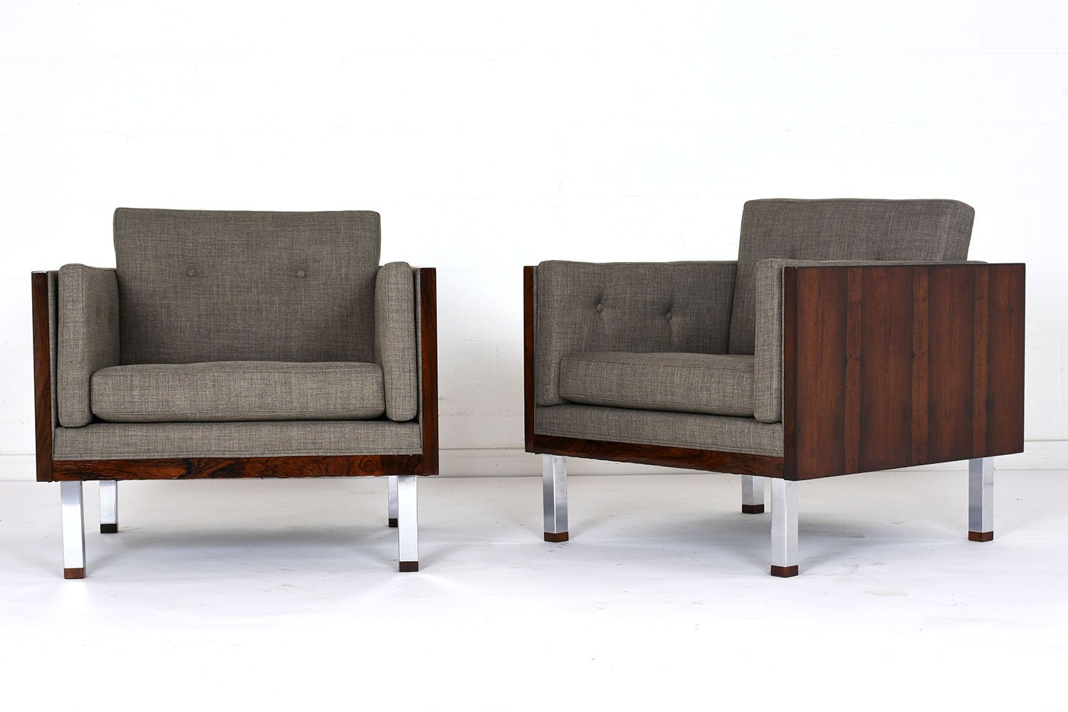 Lounge Chairs by Jydsk Mobelvaerk, 1960s, Set of 2 for sale at Pamono