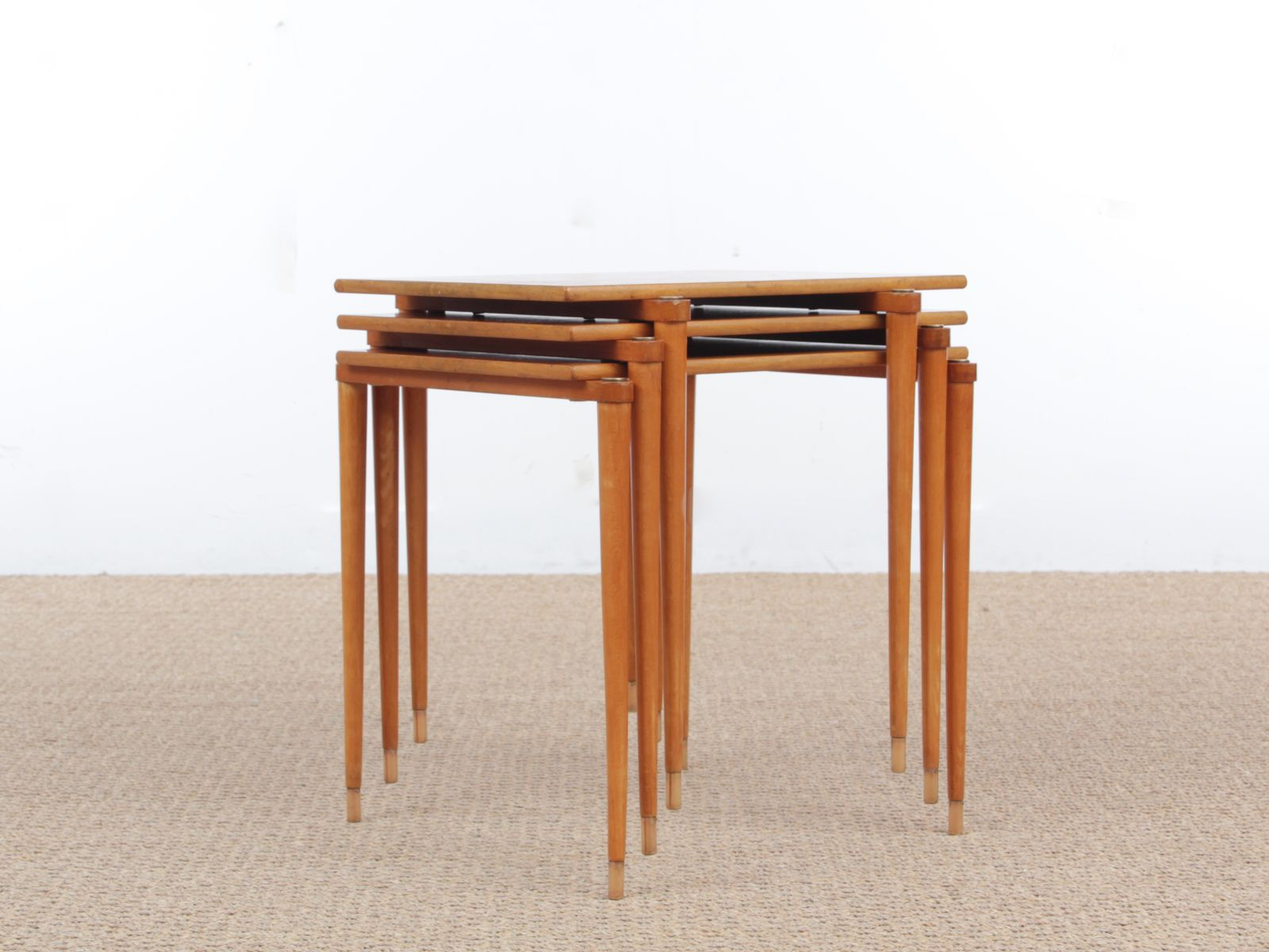 . midcentury modern italian nesting tables for sale at pamono