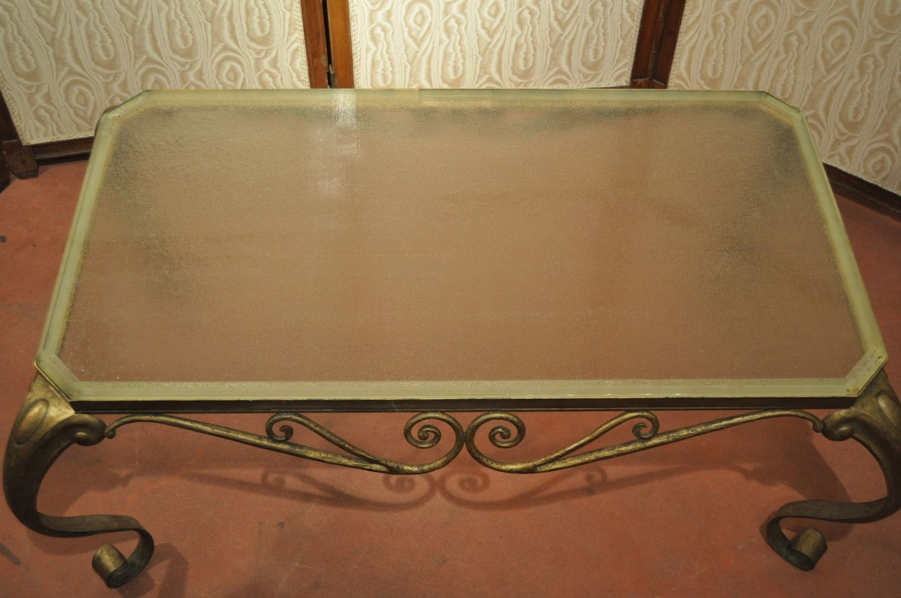 vintage art deco coffee table for sale at pamono. Black Bedroom Furniture Sets. Home Design Ideas