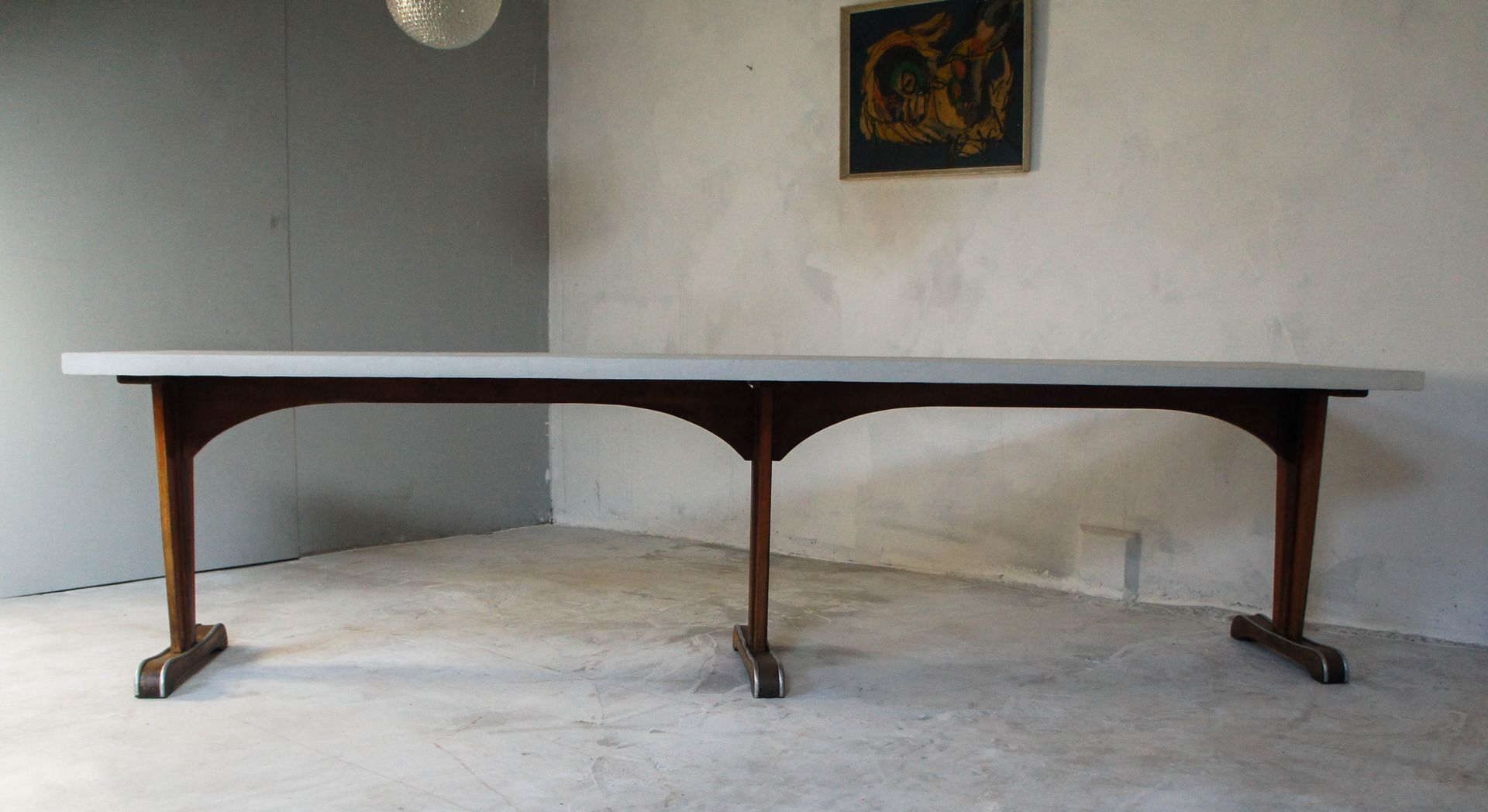 wood dining tables for sale mid century large wooden dining table 1930s for at 1930