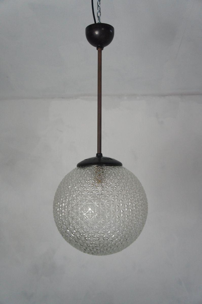 Mid century glass and bakelite globe pendant lights 1950s set of mid century glass and bakelite globe pendant lights 1950s set of 2 for sale at pamono arubaitofo Choice Image