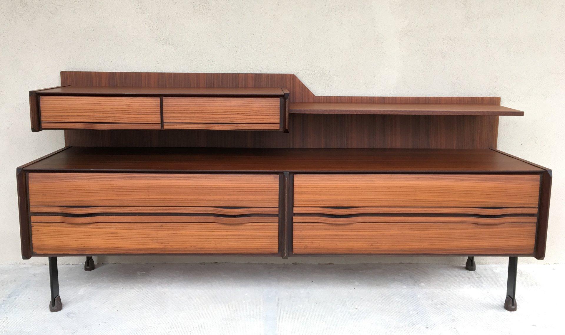 Credenza mid century di la sorgente dei mobili arosio for Mobili italy