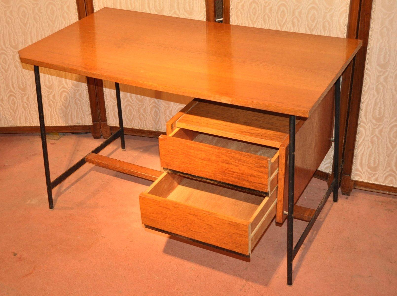h lzerner vintage schreibtisch 1950er bei pamono kaufen. Black Bedroom Furniture Sets. Home Design Ideas