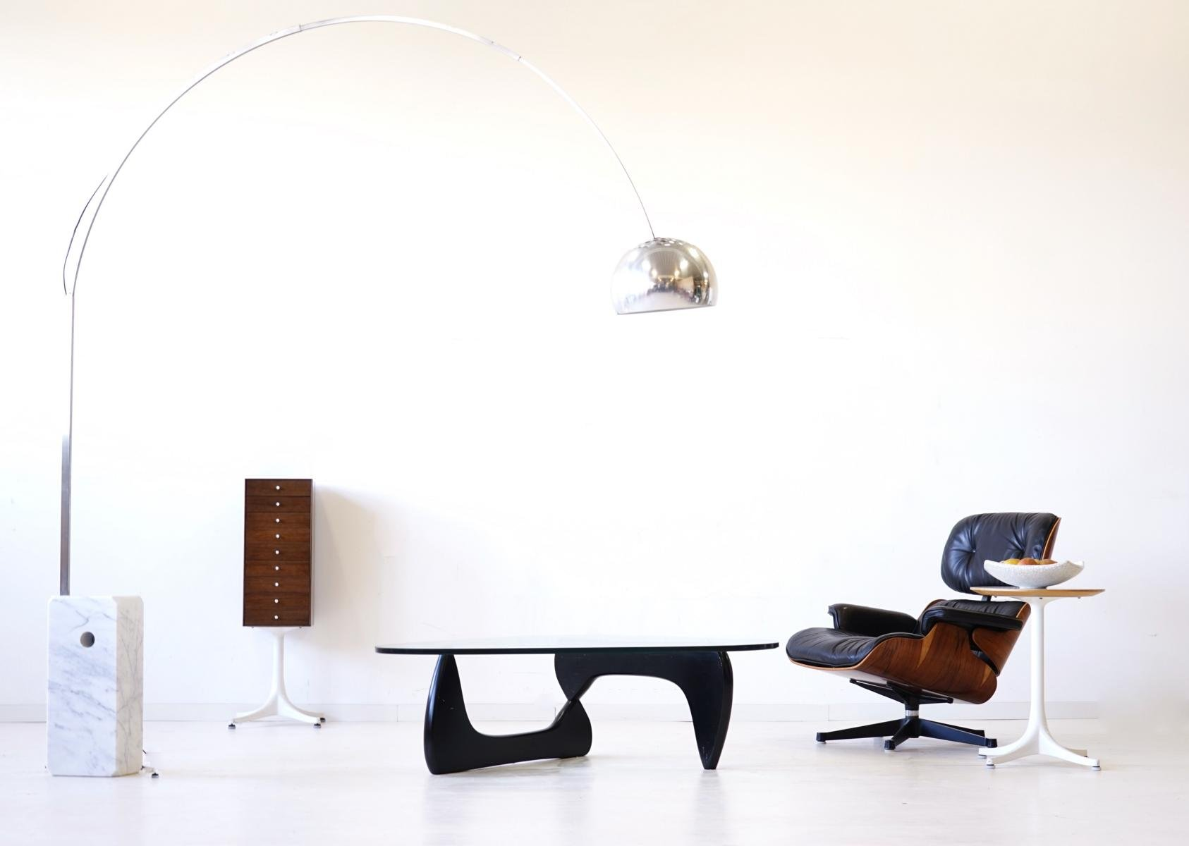 Glass Coffee Table by Isamu Noguchi for Herman Miller 1960s for