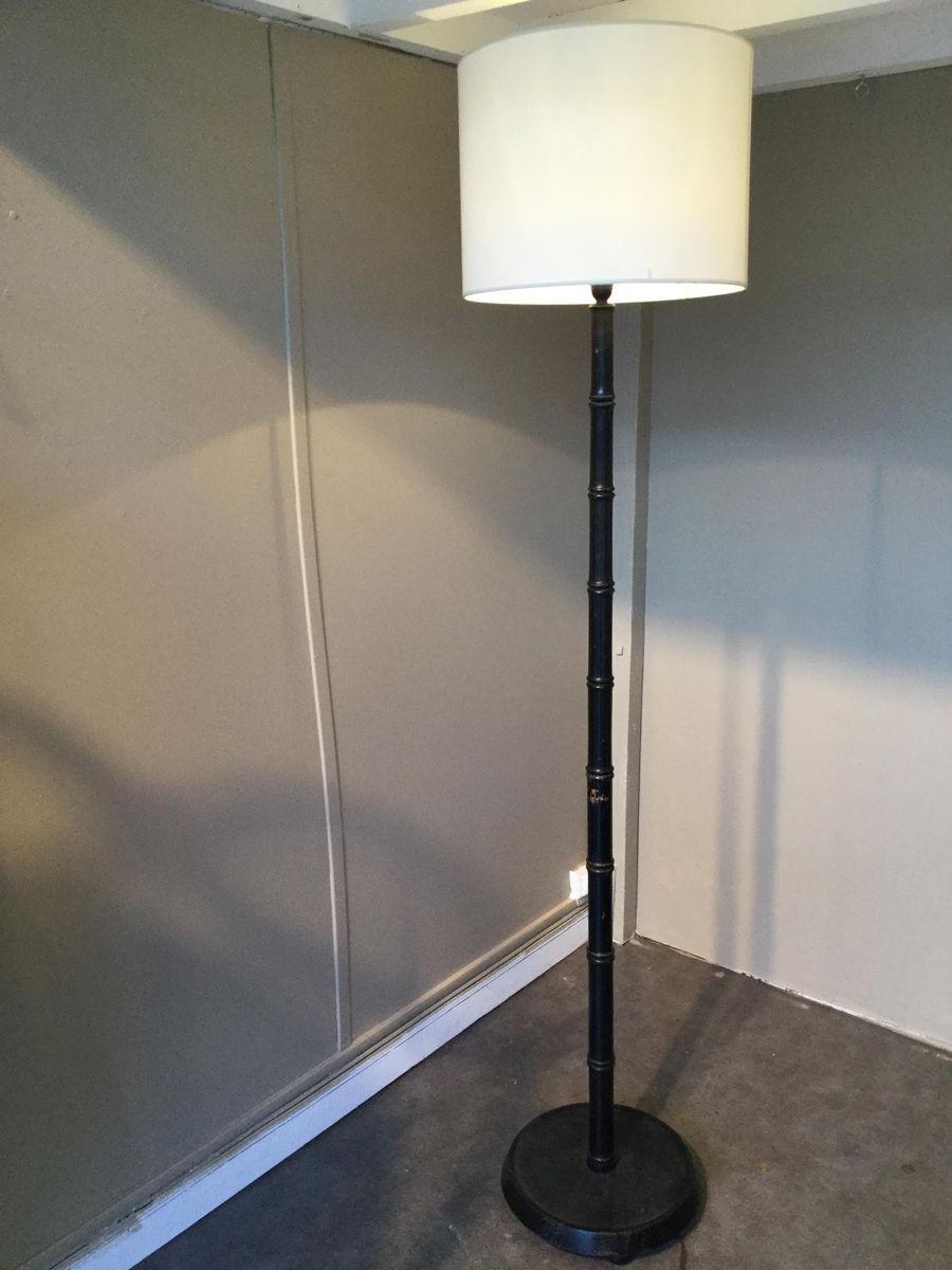 Bamboo Floor Lamp, 1960s