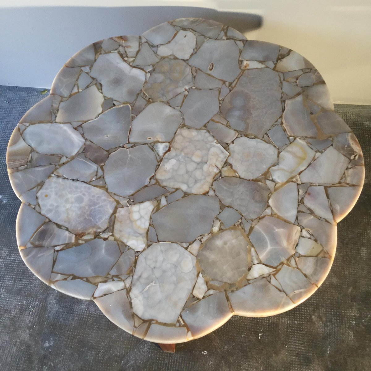 Vintage coffee table in onyx and marble for sale at pamono vintage coffee table in onyx and marble geotapseo Images