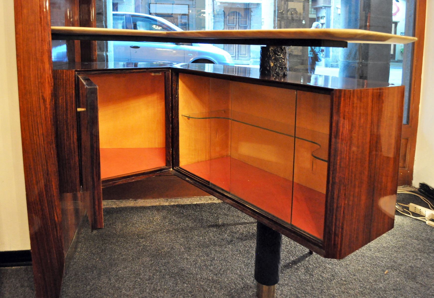 Vintage italian mobile bar by osvaldo borsani for borsani - Mobile bar vintage ...