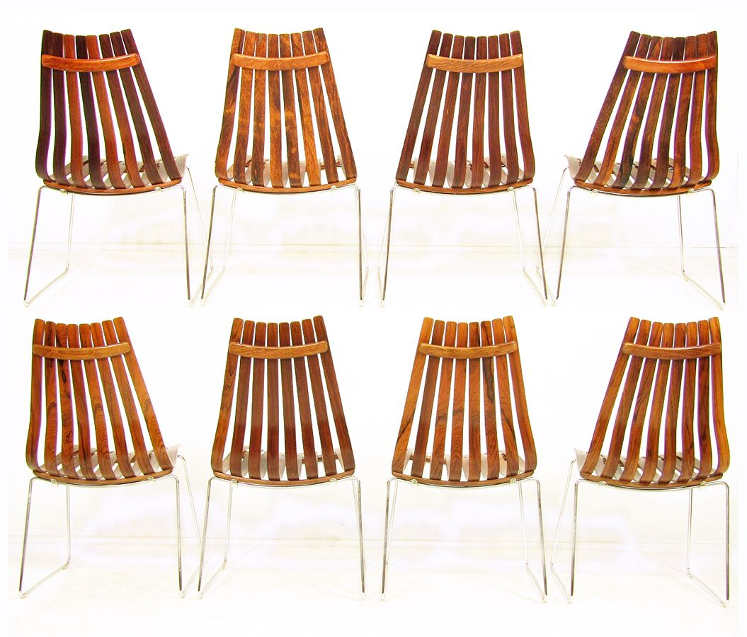 hans brattrud scandia chairs. rosewood scandia chairs by hans brattrud for hove mobler, 1960s, set of 8