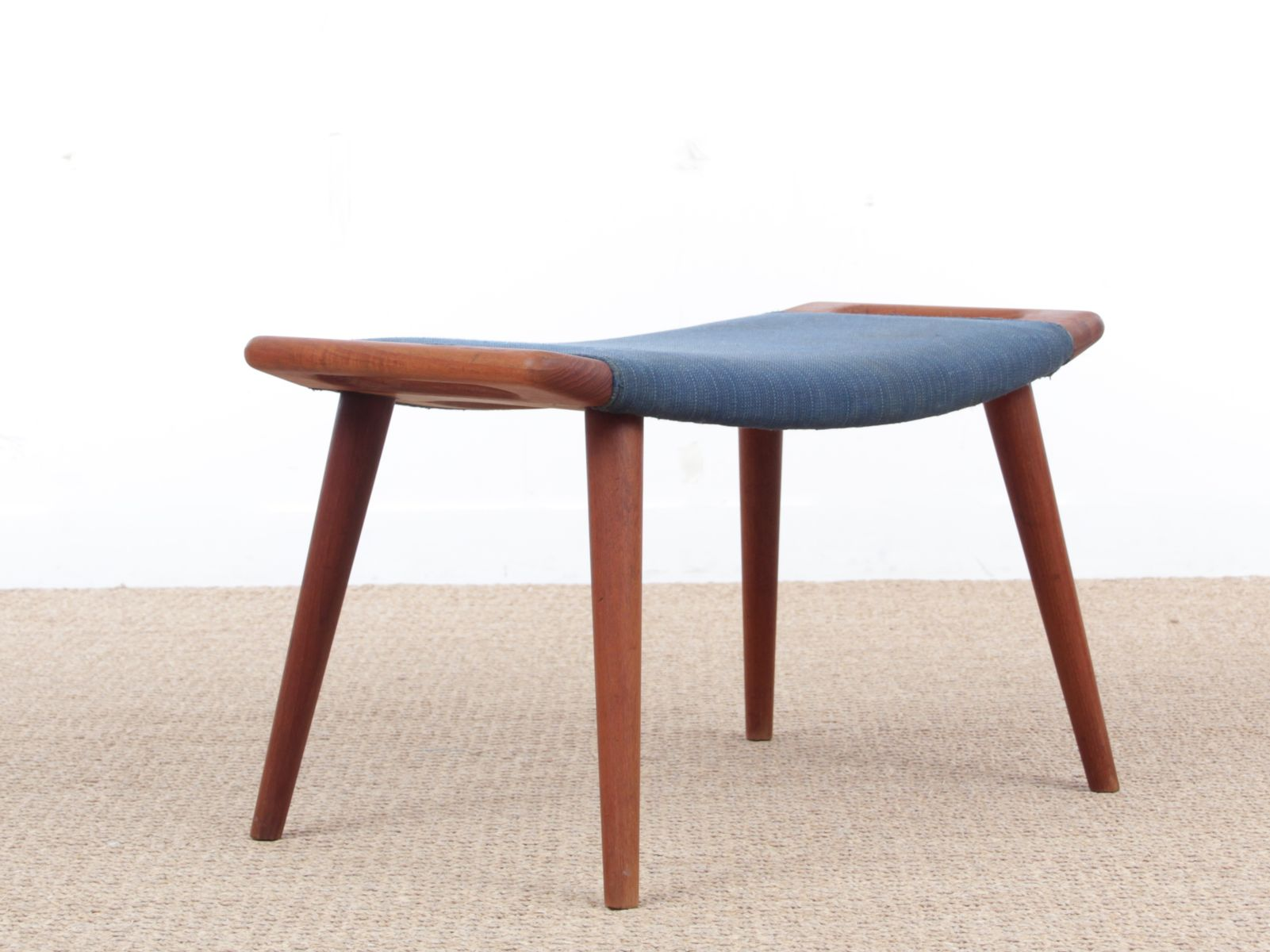 Mid-Century Modern AP-29 Papa Bear Stool by Hans Wegner for A.P. Stolen,  1954 for sale at Pamono