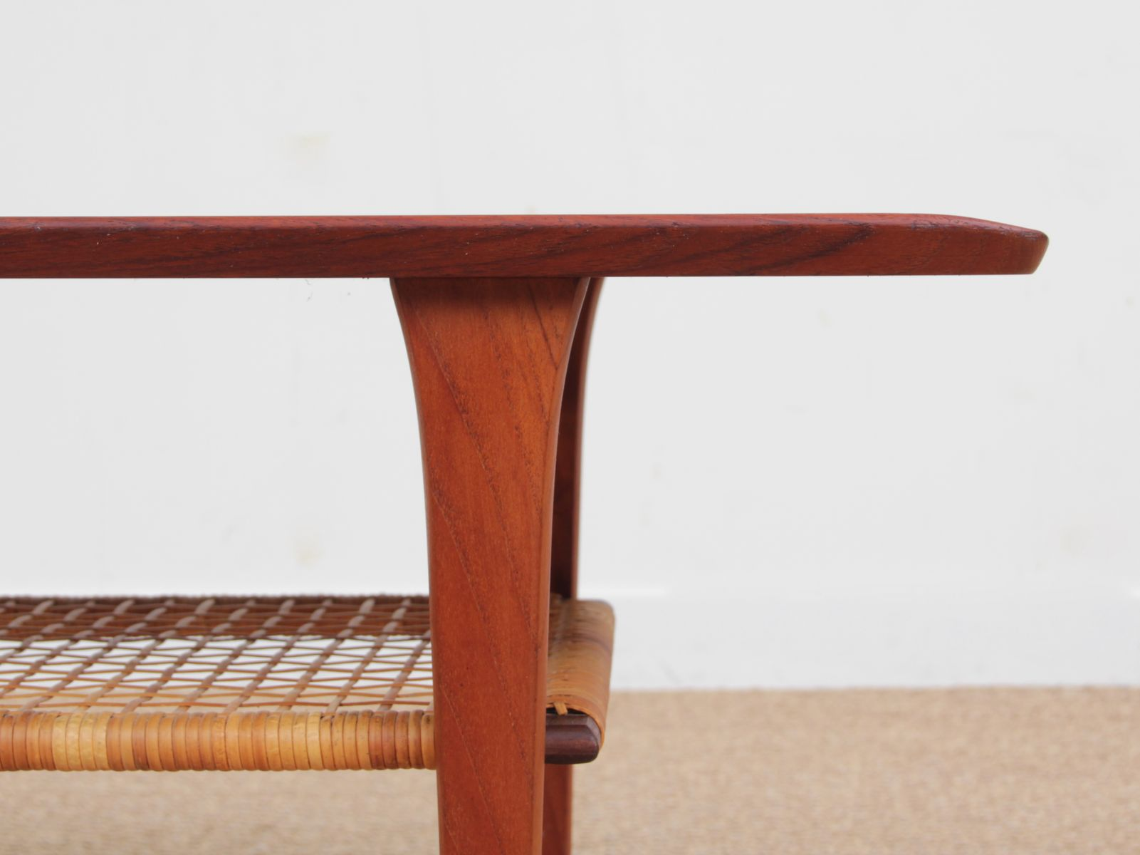 Mid century modern scandinavian coffee table in teak 1960s for sale at pamono Modern teak coffee table