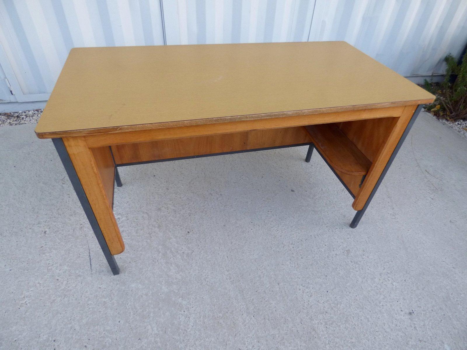 vintage brown office bureau 1950s for sale at pamono. Black Bedroom Furniture Sets. Home Design Ideas