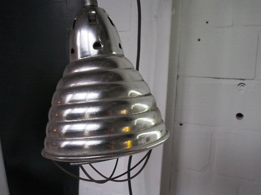 industrielle magnetische vintage lampe bei pamono kaufen. Black Bedroom Furniture Sets. Home Design Ideas