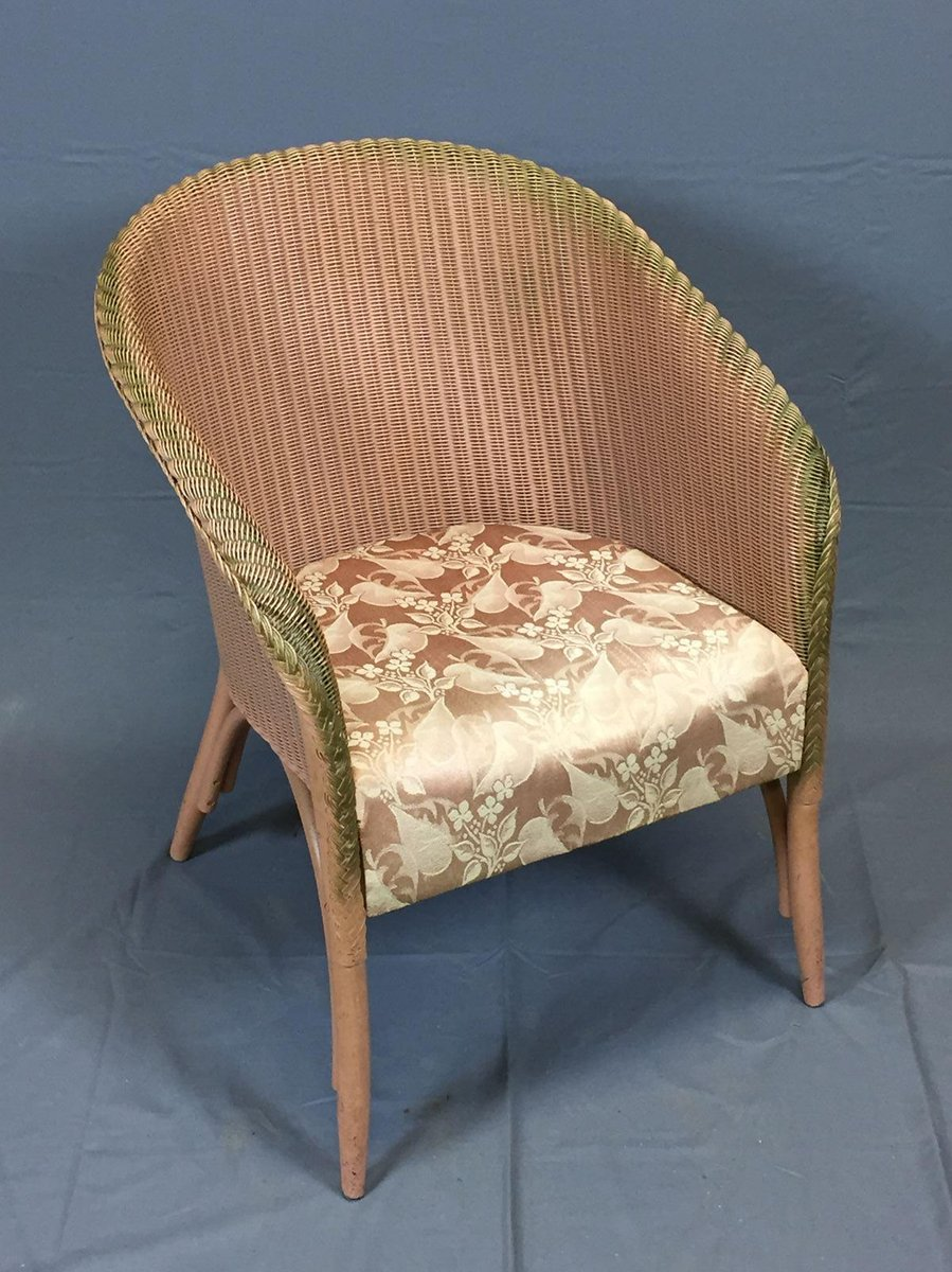 Vintage Armchair By Lloyd Loom For Sale At Pamono